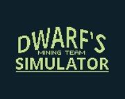 Dwarf's Mining Team Simulator Title'